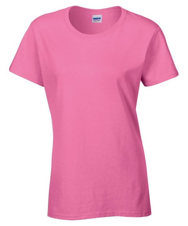 t-shirt ladies gildan heavy cotton