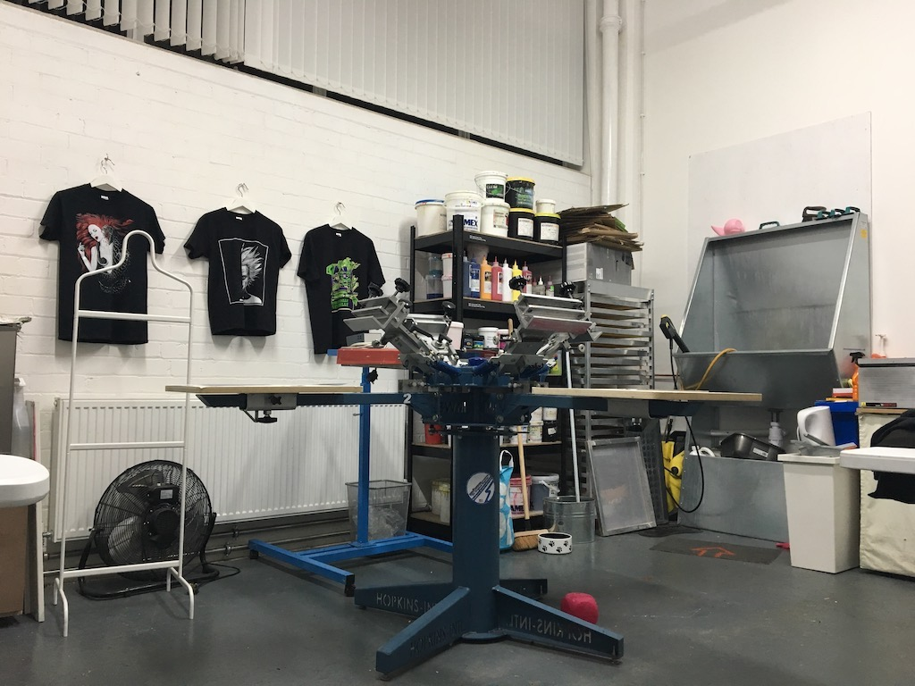 parallel prints Glasgow screen printing services